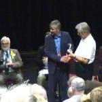 Chris Beale winning National Honey Show 2013